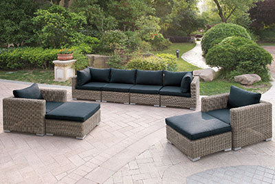 415 Outdoor 8-Pcs Outdoor Set