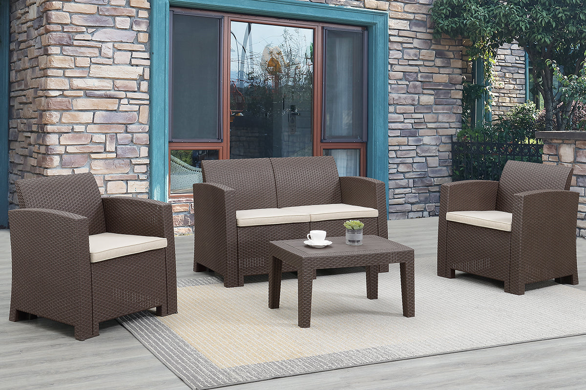 473 Outdoor 4-Pcs Outdoor Set