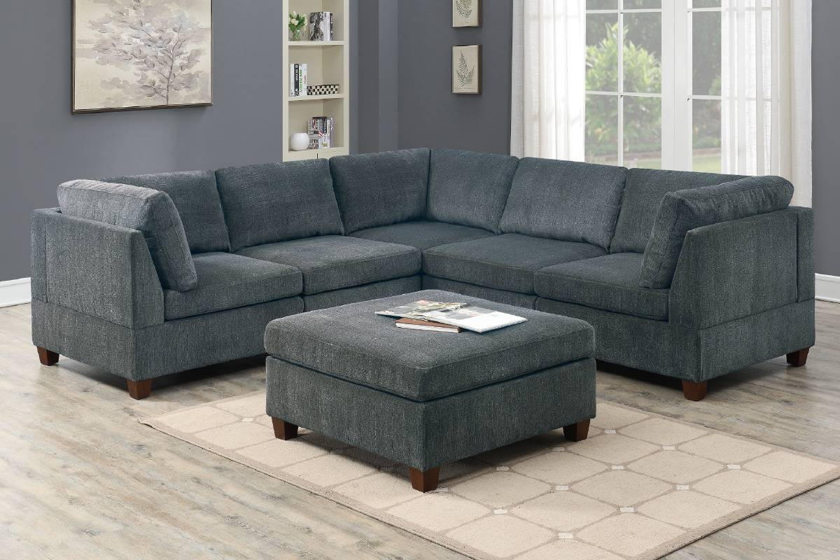 821 Living Room Modular Sectional