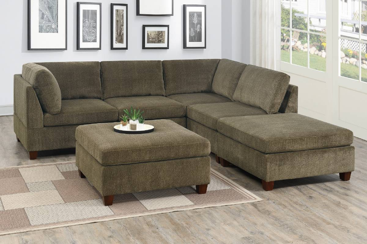 824 Living Room Modular Sectional