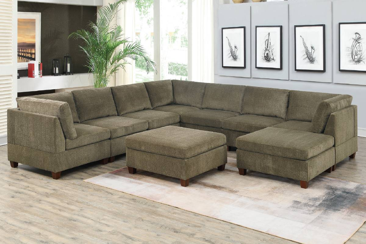 827 Living Room Modular Sectional