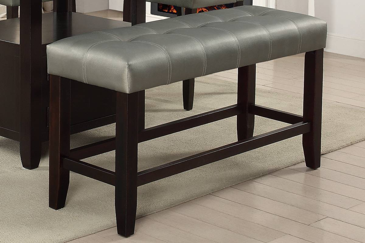 F1757 Dining Room Counter Height Bench