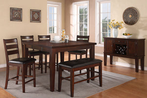 F2208 Dining Room Counter Height Table