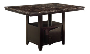 F2461 Dining Room Counter Height Table