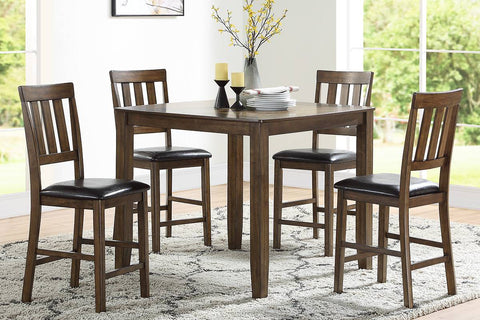 F2545 Dining Room 5-Pcs Counter Height Set