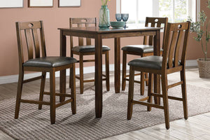 F2559 Dining Room 5-Pcs Counter Dining Set