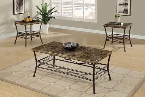 F3097 Living Room 3-Pcs Table Set
