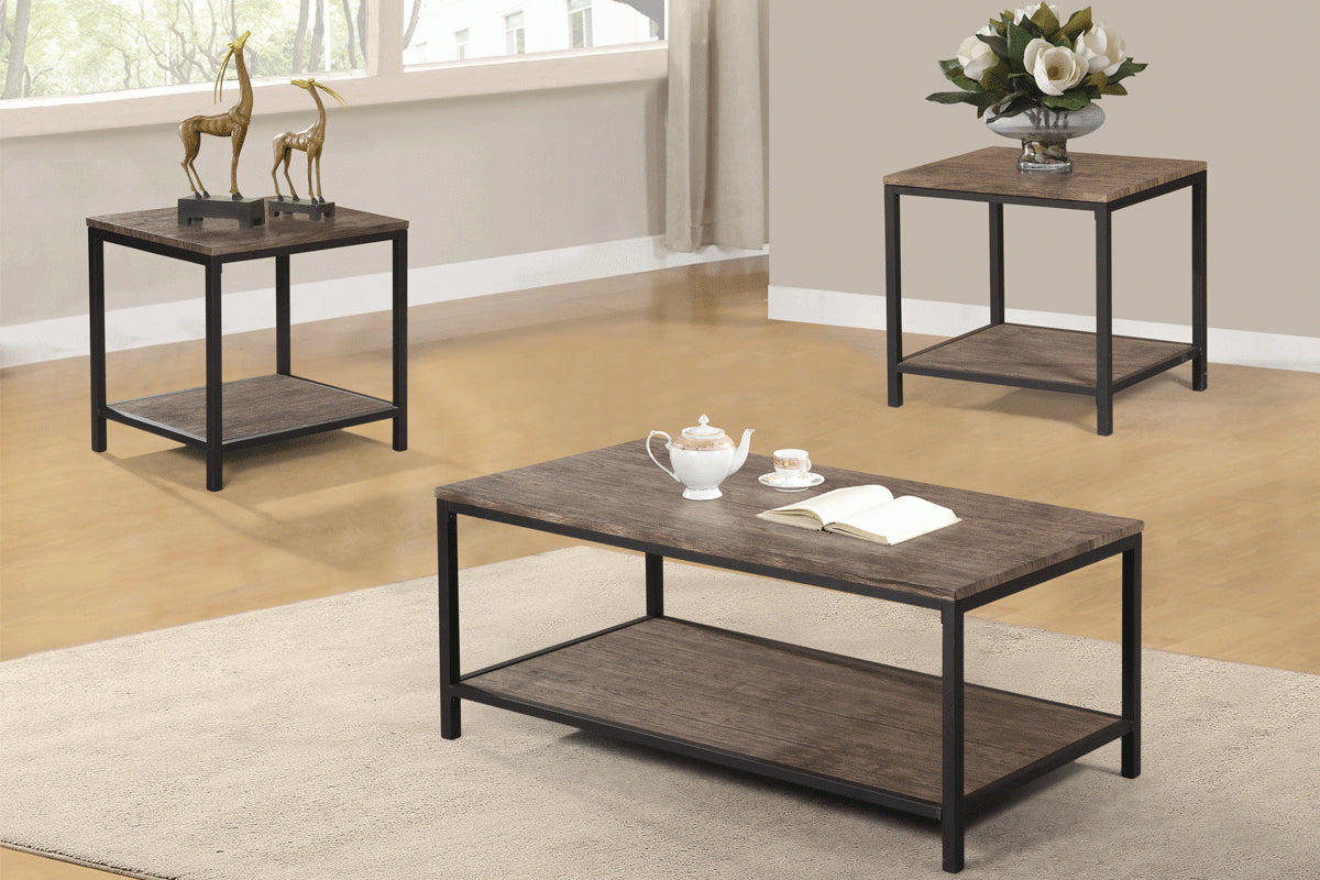 F3180 Living Room 3-PCS Coffee Table Set