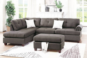 F6415 Living Room 3-PCS Sectional Set