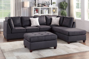 F6423 Living Room 3-PCS Sectional Sofa Set