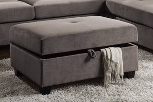 F6427 Living Room Cocktail Ottoman W/Storage