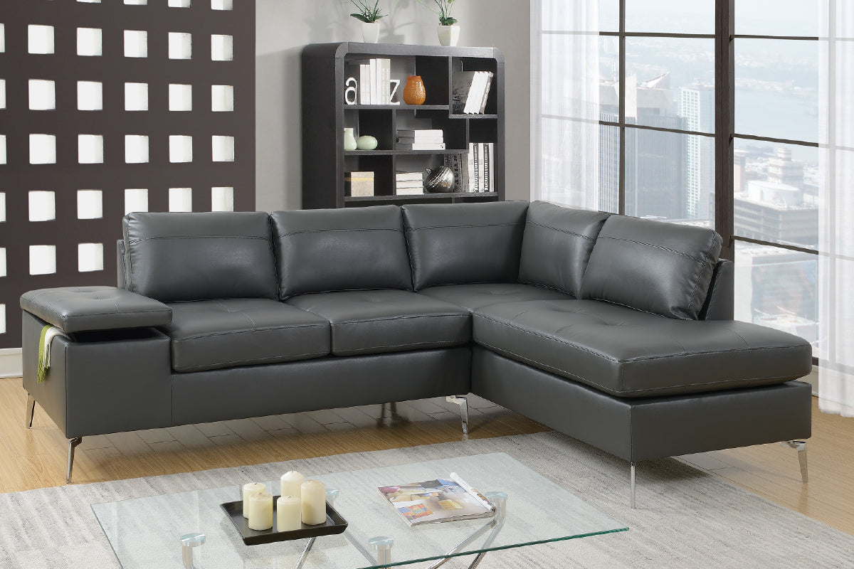 F6520 Living Room 2-Pcs Sectional Sofa