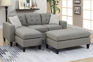 F6576 Living Room 3-Pcs Sectional Set