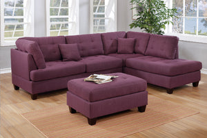 F6583 Living Room 3-Pcs Sectional Set