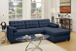 F6584 Living Room 2-PCS Sectional Sofa Set