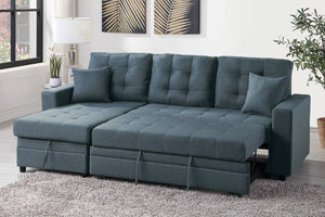 F6593 Living Room 2-PCS Sectional Set