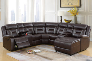 F6703 Living Room Motion Sectional