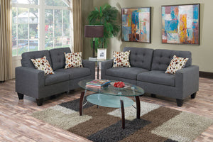 F6901 Living Room 2-Pcs Sofa Set