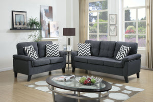 F6905 Living Room 2-Pcs Sofa Set