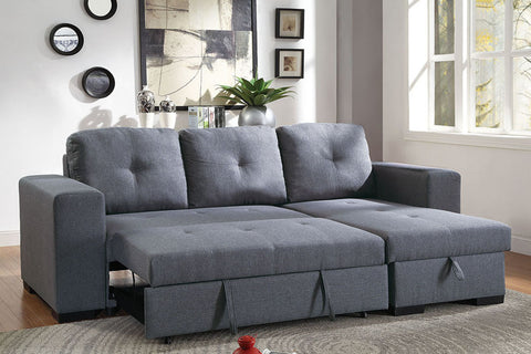 F6910 Living Room Convertible Sectional
