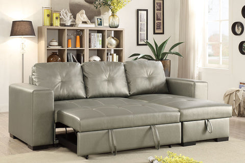 F6919 Living Room Convertible Sectional