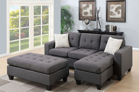 F6920 Living Room Sectional w/ Ottoman
