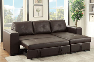F6930 Living Room Convertible Sectional