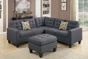 F6935 Living Room 4-Pcs Modular Sectional