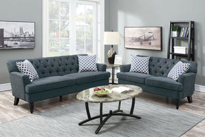 F6941 Living Room 2-Pcs Sofa Set