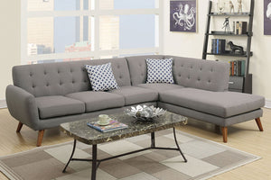 F6953 Living Room 2-Pcs Sectional Sofa