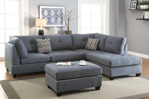 F6975 Living Room 3-Pcs Sectional Sofa