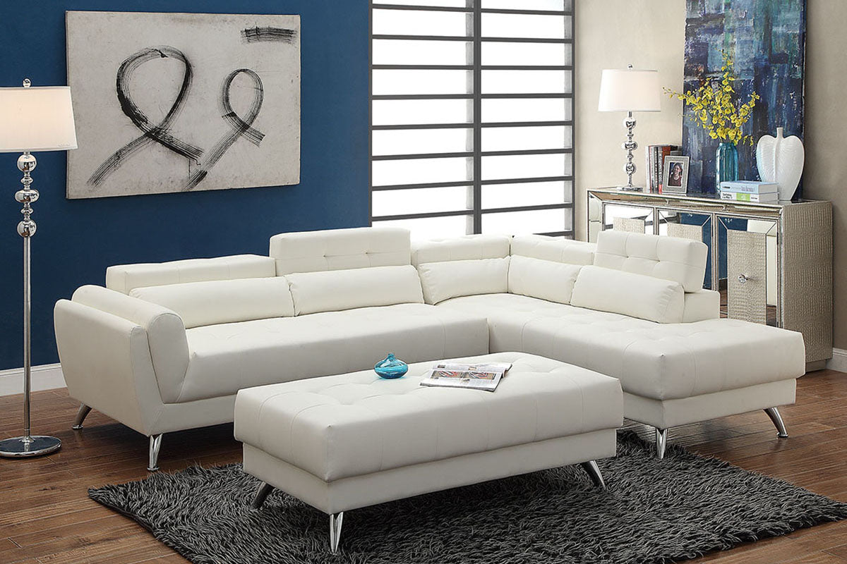 F6977 Living Room 2-Pcs Sectional Sofa