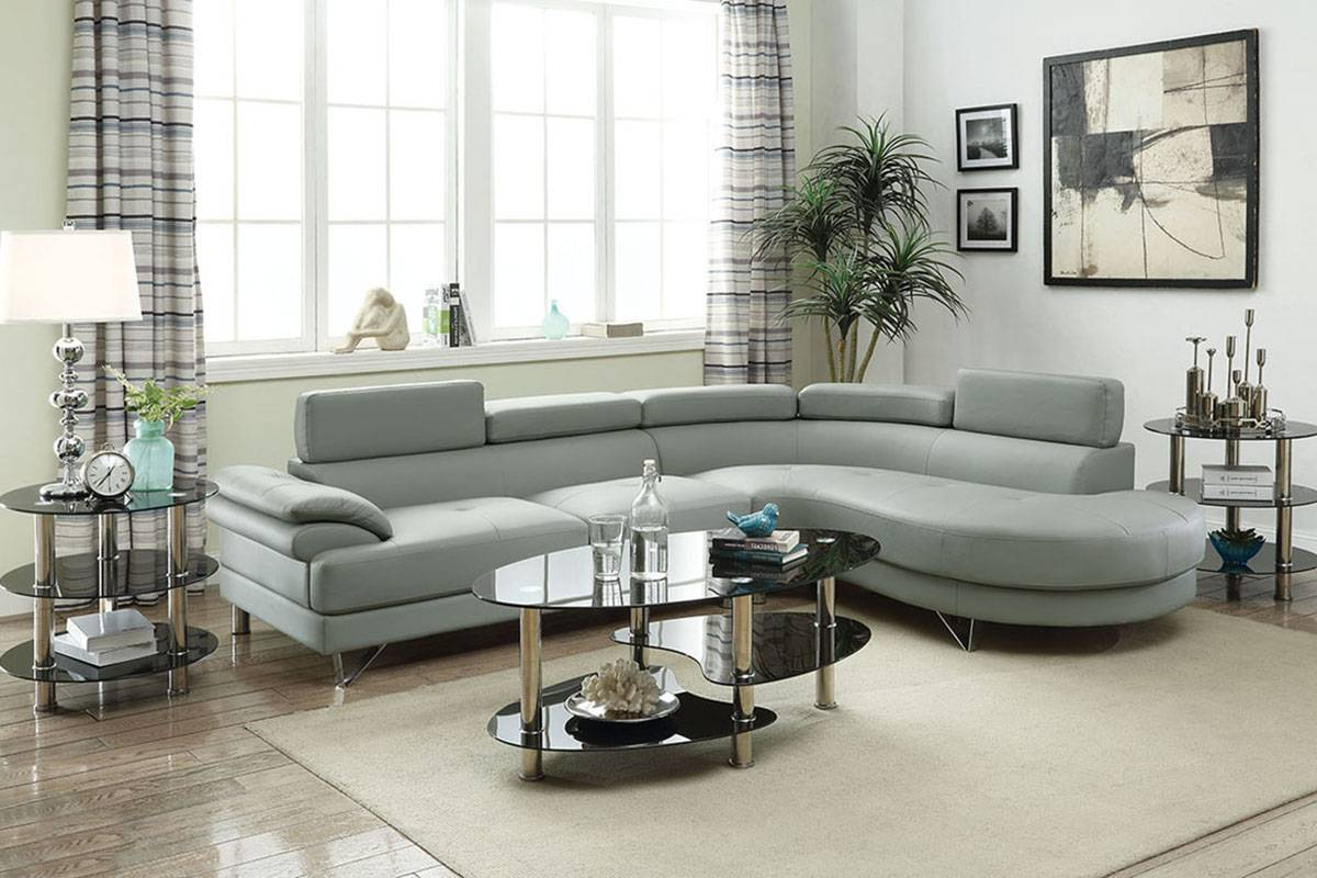 F6984 Living Room 2-Pcs Sectional Sofa