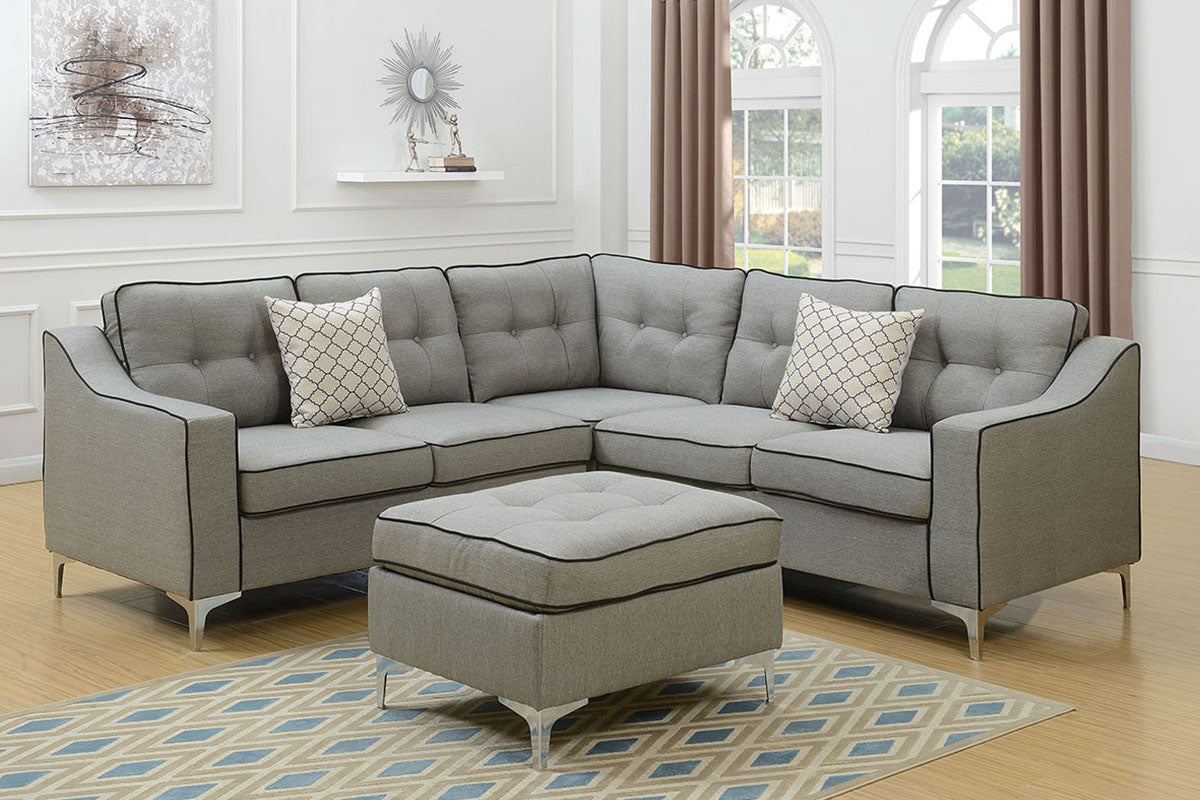 F6998 Living Room 4-Pcs Sectional