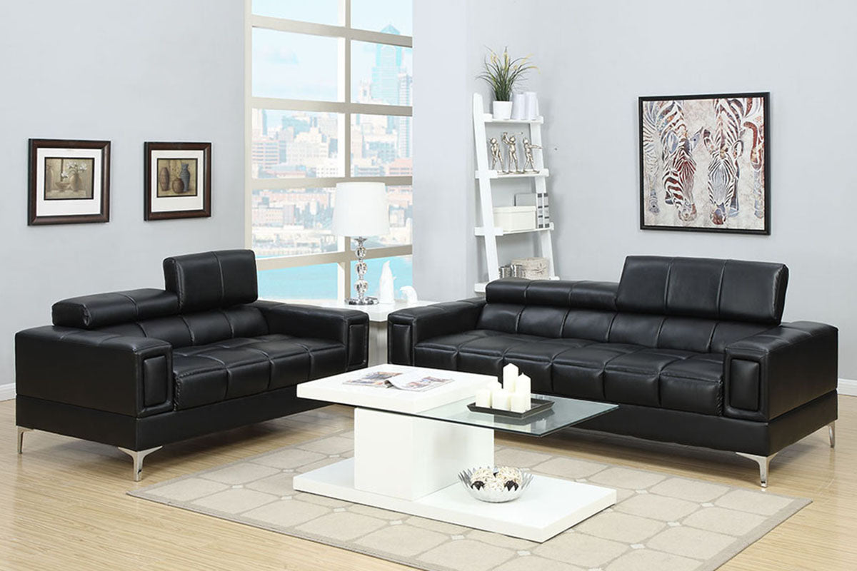 F7239 Living Room 2-Pcs Sofa Set