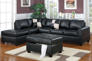 F7355 Living Room Sectional w/ Ottoman