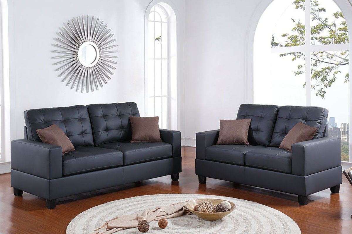 F7855 Living Room 2-Pcs Sofa Set