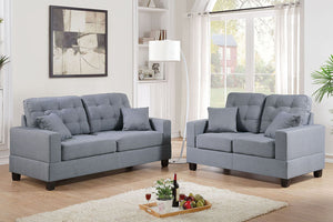 F7858 Living Room 2-Pcs Sofa Set