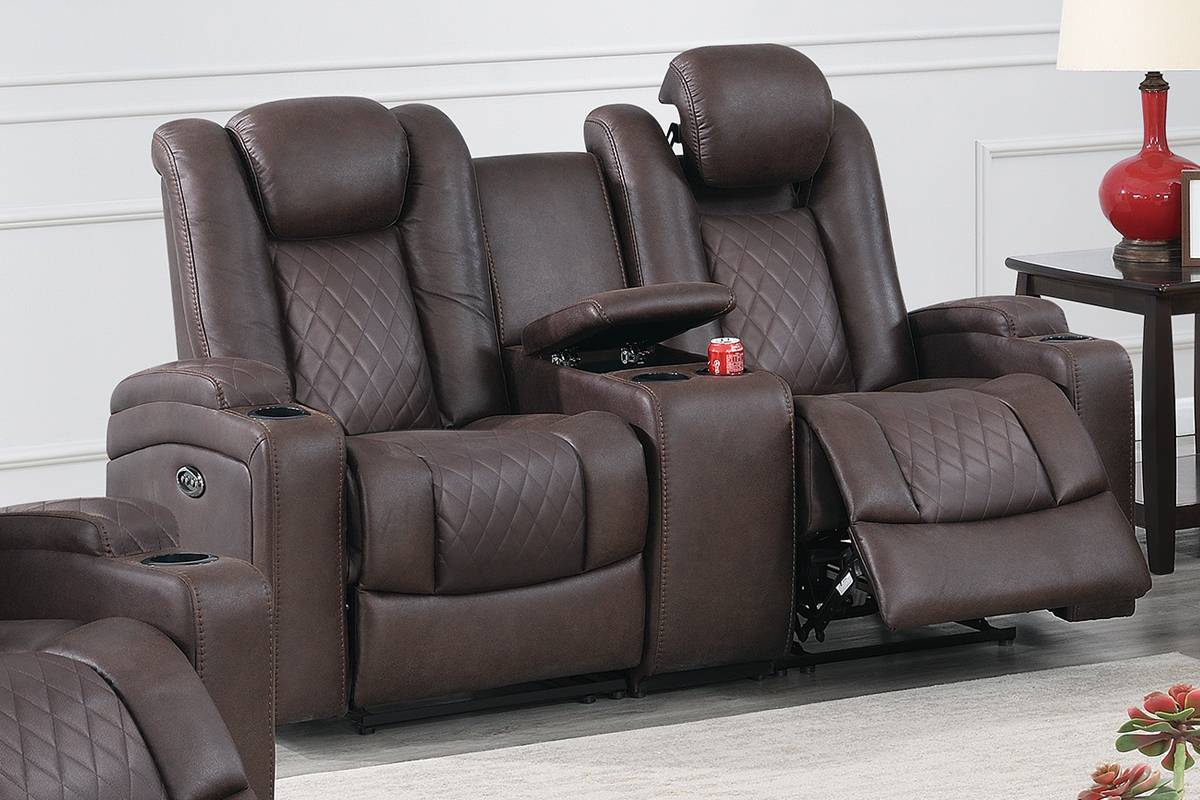 F86325 Living Room Power Motion Loveseat