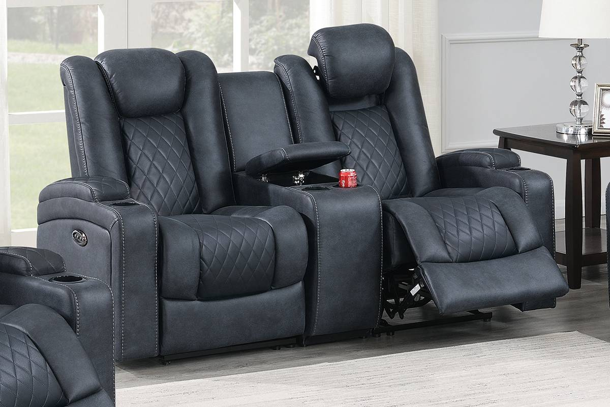 F86328 Living Room Power Motion Loveseat
