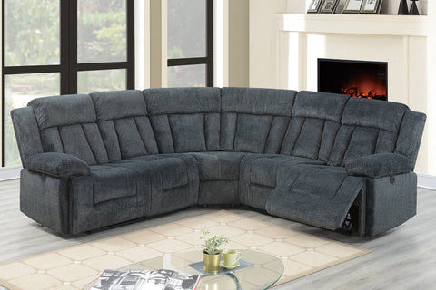 F86604 Living Room Power Motion Sectional