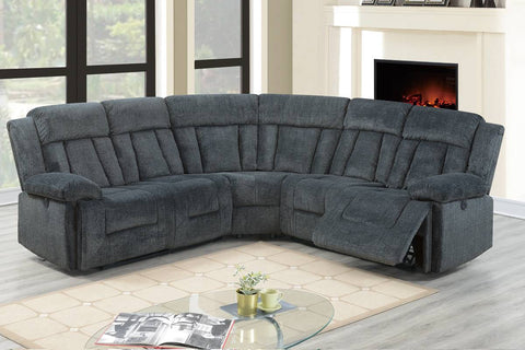 F86605 Living Room Power Motion Sectional