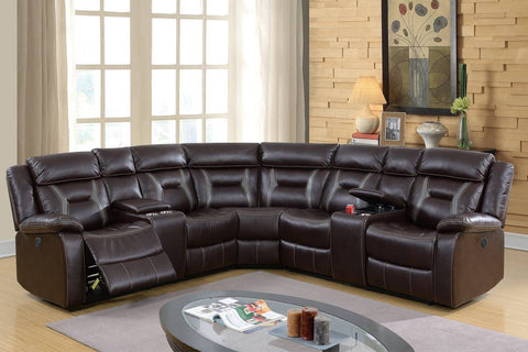 F86610 Living Room Power Motion Sectional