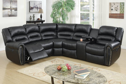 F86612 Living Room Power Motion Sectional