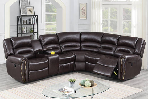 F86613 Living Room Power Motion Sectional