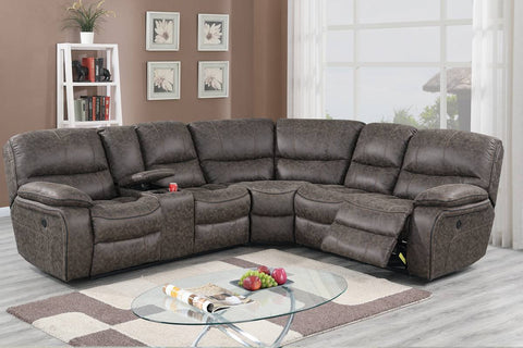 F86615 Living Room Power Motion Sectional