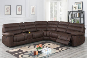 F86616 Living Room Power Motion Sectional