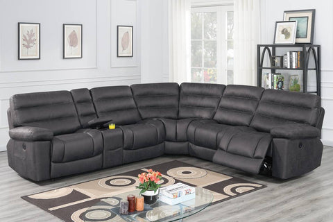 F86617 Living Room Power Motion Sectional
