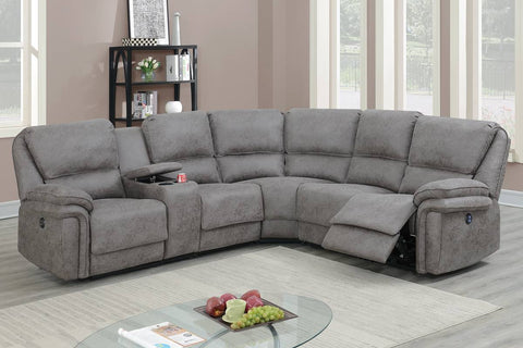 F86619 Living Room Power Motion Sectional