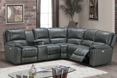 F86754 Living Room Power Motion Sectional